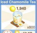 Iced Chamomile Tea