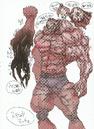 BIOHAZARD REVELATIONS 2 Concept Guide - Monster Neil concept art 1.png