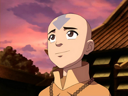 Aang en el Dragón del Jazmín