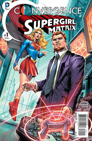 Cover for Convergence: Supergirl: Matrix #1 (2015)