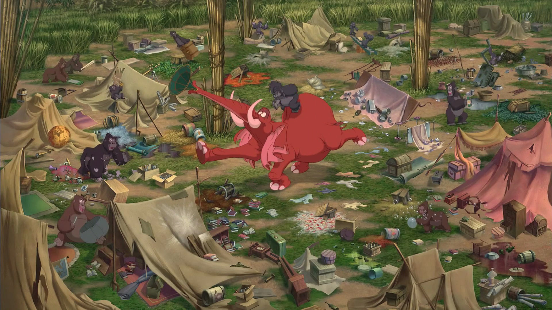 Tarzan and jane at cartoon sex scene 2