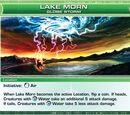 Lake Morn, Globe Storm