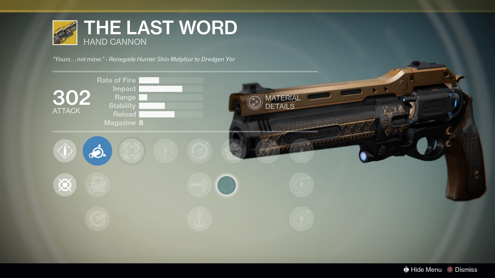The Last Word - Destinypedia, the Destiny Wiki - Destiny, Bungie ...