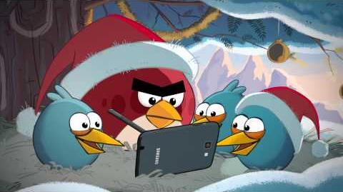 -GALAXY Note- Angry Birds Winter Wonderland