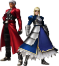 FrontierGen-Akahara Reisou Armor (Male) and Knight-King Armor (Female) (Both) Render 2.png