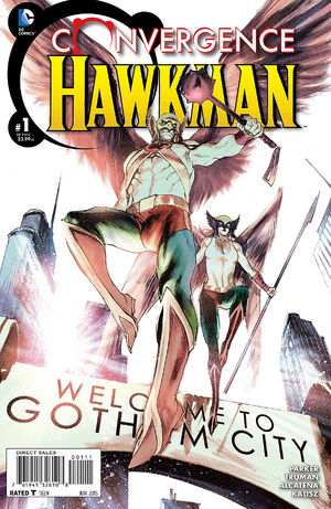 Cover for Convergence: Hawkman #1 (2015)
