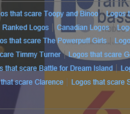 """Graphitetailgrace/Are all the """"Logos that scared X"""" categories necessary??"""