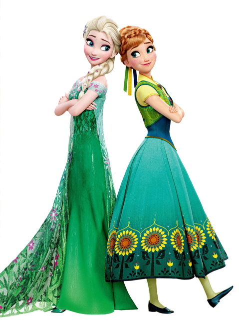Image - Elsa and Anna Frozen Fever Render.png - Disney Wiki - Wikia Frozen Coloring Pages Young Anna