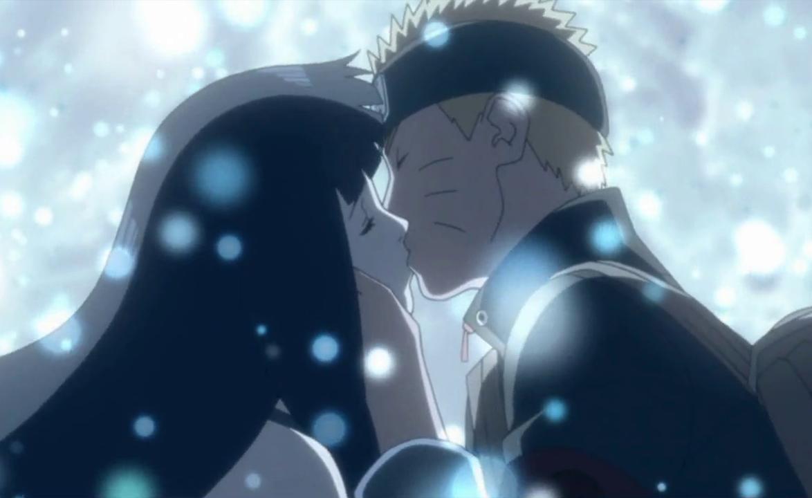 Image - Naruto and Hinata kiss.png - Narutopedia, the