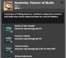 Hamlette, Painter of Skulls