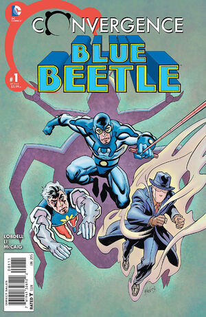 Cover for Convergence: Blue Beetle #1 (2015)