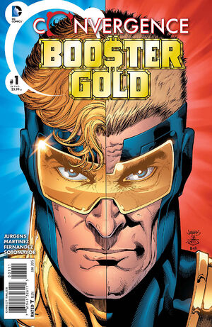 Cover for Convergence: Booster Gold #1 (2015)