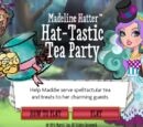 Madeline Hatter ereszd-el-a-kalapom teazsúrja