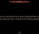 E - mail de Barry a Chris