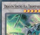 Dragón Sincro Ala Transparente