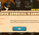 Bersek Aborignal Warrior