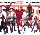 The War Knight/Marvel revela los personajes de All-New All-Different Marvel