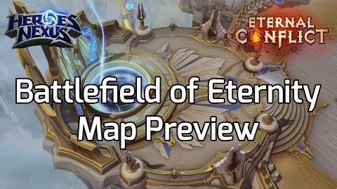 Battlefield of Eternity - Fly Over - Heroes Eternal Conflict