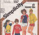 Simplicity 5517 B
