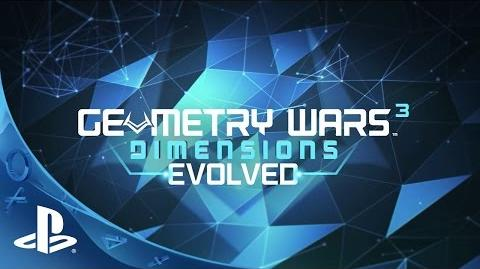 Geometry Wars 3 Dimensions Evolved - Launch Trailer PS4, PS3