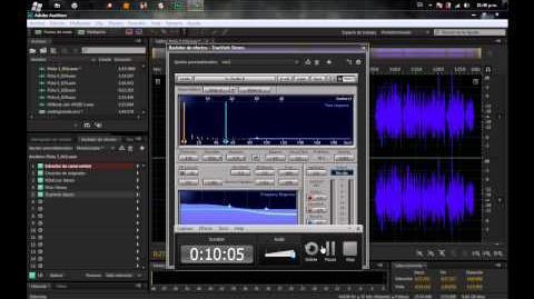 Tutorial Editar audio Adobe Audition CS6 Calidad aceptada en HHG