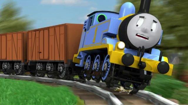 Thomas The Unstoppable Tank Engine.