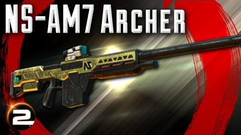 NS-AM7 Archer - PlanetSide 2 Weapon Review