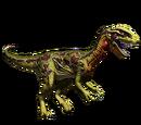 Dilofozaur - skórka Toxic