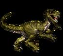 Novaraptor - skórka Golden Savage