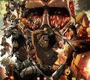 Атака Титанов фильм первый: Багровые луки и стрелы