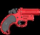 Pistolet sygnałowy - skórka Red