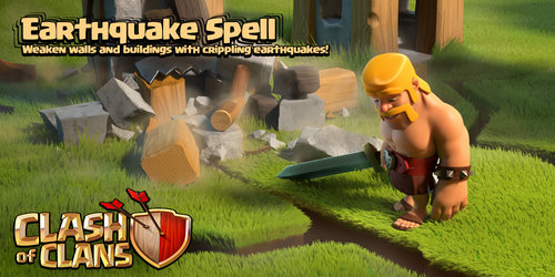 Sneak Peek Earthquake Spell