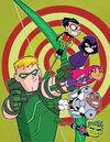 Green Arrow Vol 5 42 Textless Teen Titans Go Variant.jpg