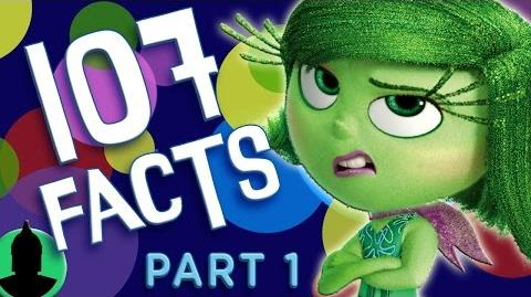 """107 Pixar's """"Inside Out"""" Facts YOU Should Know! PART 1 (ToonedUp 29) @ChannelFred-1"""