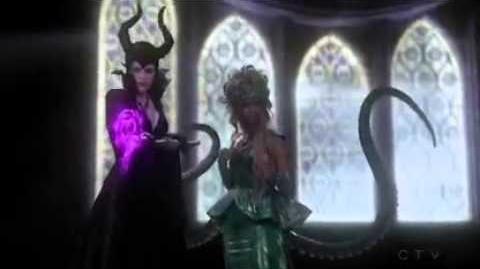 Once Upon A Time 4x12 - Maleficent , Ursula & Cruella Meet