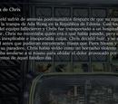 La amnesia de Chris