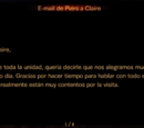 E - mail de Piers a Claire