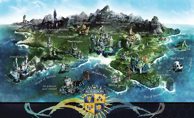 Výsledek obrázku pro descendants mapa