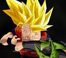 Son Goku SS3 vs Hiper Célula