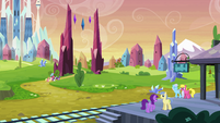 Mane Six enter the Crystal Empire EG