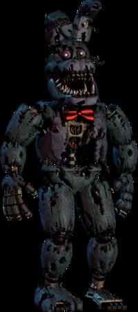 Nightmare freddy updated minecraft skin