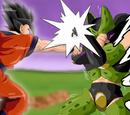 Son Goku vs Hiper Célula
