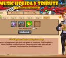 Music Holiday Tribute