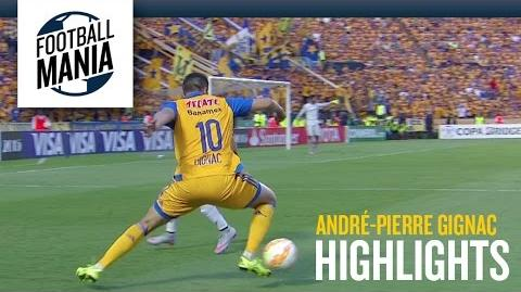 André-Pierre Gignac (Tigres) - Individual Highlights vs. Internacional