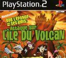 Bob l'éponge et ses amis : Attaque sur l'île du volcan.