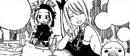 Lucy et Reby constatent que la guilde est revenue à la normale.png