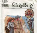 Simplicity 8820 A