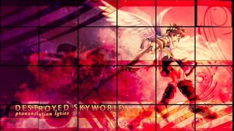 Destroyed Skyworld - SSB4 (Lyrics)