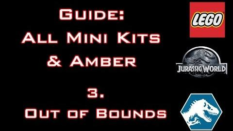 "LEGO Jurassic World - Guide All Mini Kits & Amber ""Out of Bounds"" - Commented"