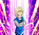 Fancy Footwork Android 18